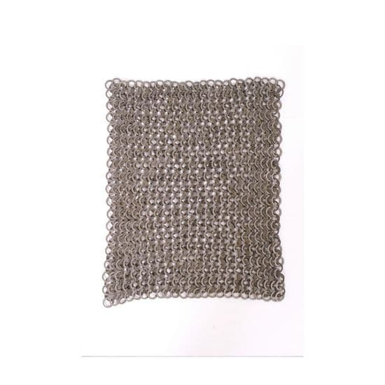 Chainmail Flat Ring Wedge Riveted
